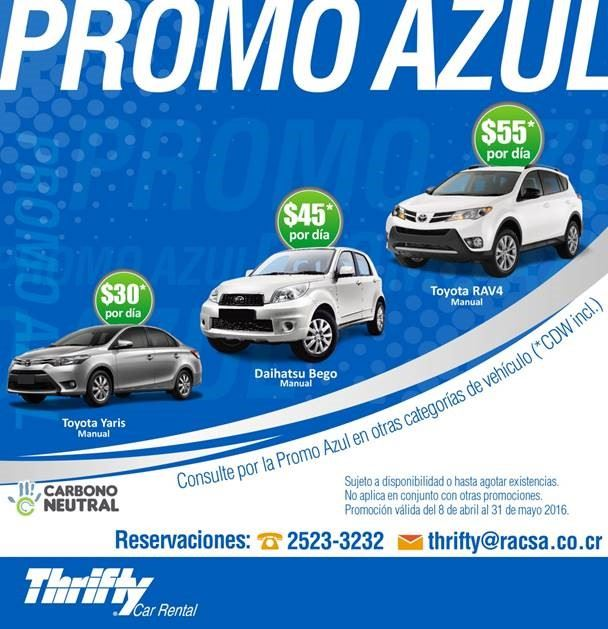 Car Rental Costa Rica Thrifty